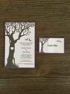 Wedding Invitation and Table Name Card Weddings, Invitations, Stationary