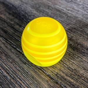 Yellow Swirl EOS Lip Balm