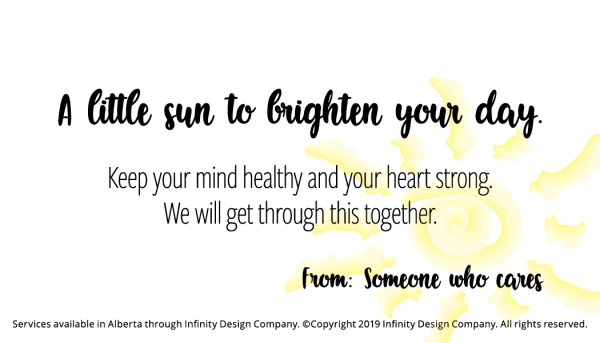 Positivity Card Free Printable 2