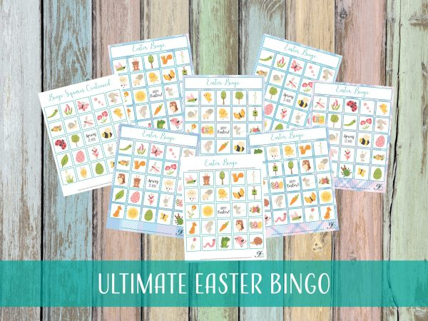 DIY Easter Bingo
