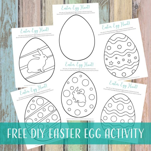 Free DIY Easter Egg Activity