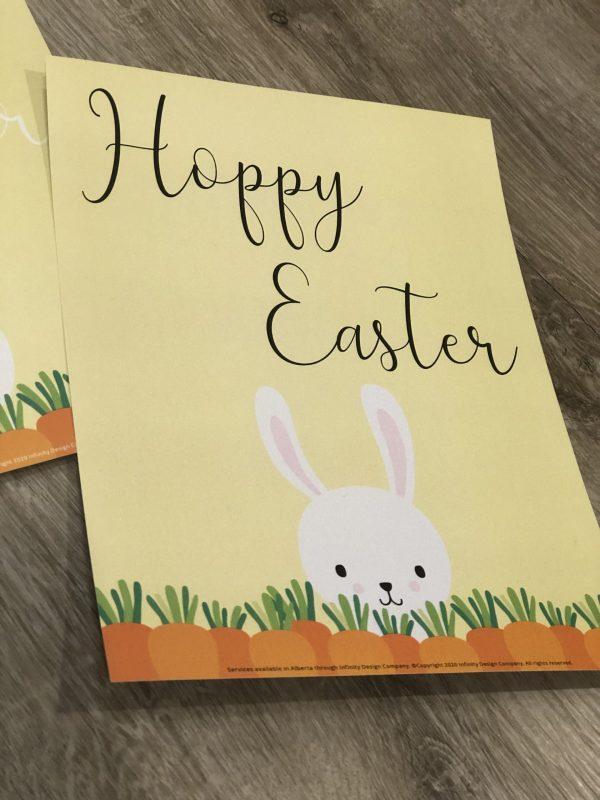 Hoppy Easter Poster