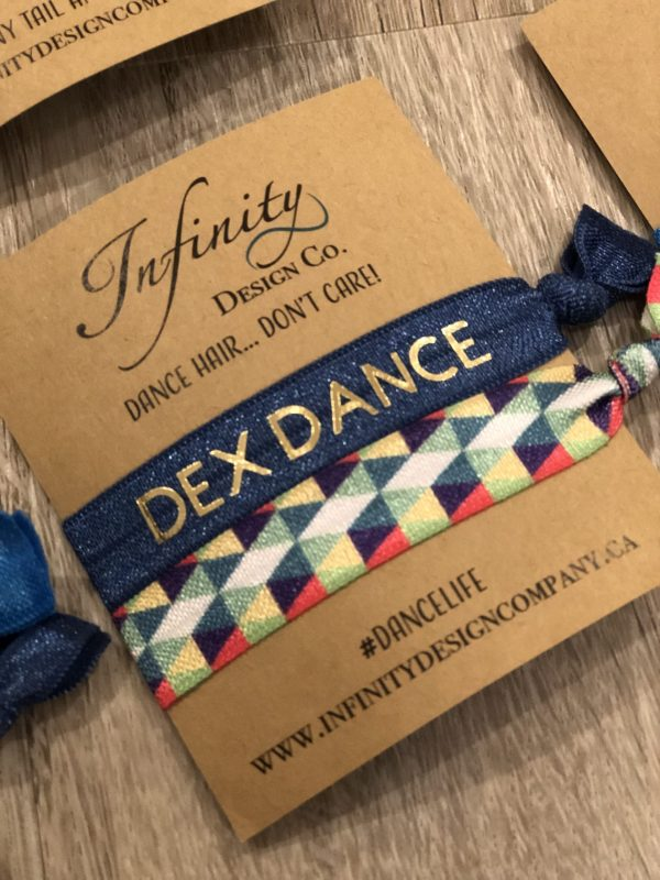 Dance Company Branded Hair Tie Elastics