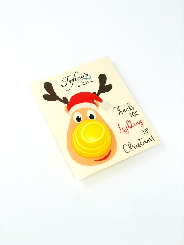 Christmas Card Stock EOS Lip Balm