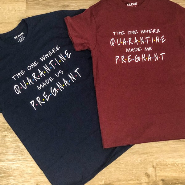 Friends Pregnancy Announcement T-Shirts