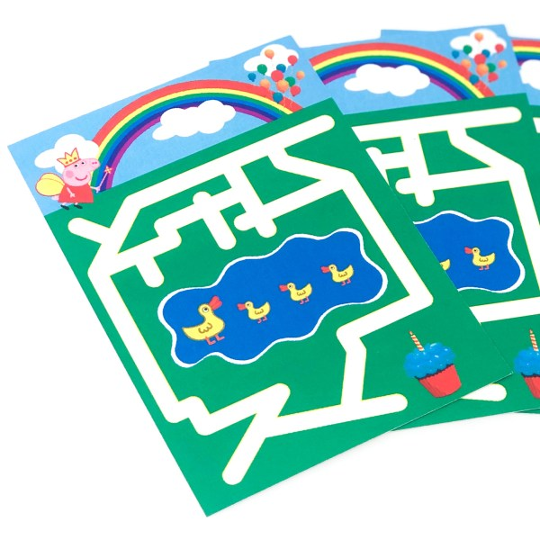 Peppa Pig Maze Party Activity
