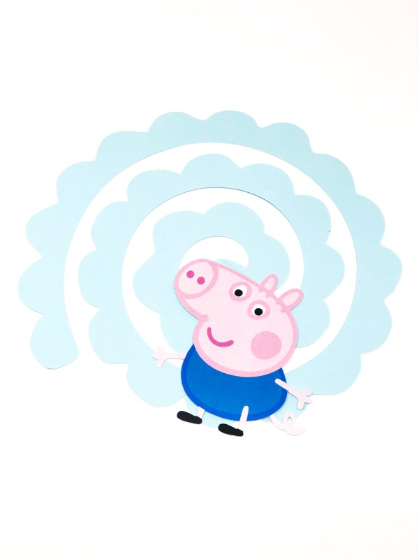 Peppa Pig Hanging Swirl Decoration