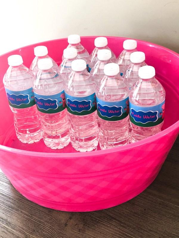 Peppa Water Bottle