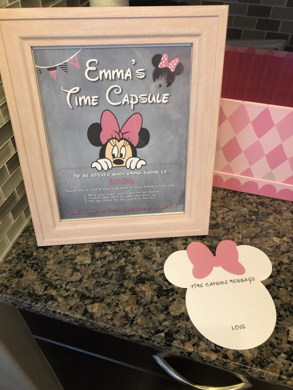 First Birthday Time Capsule