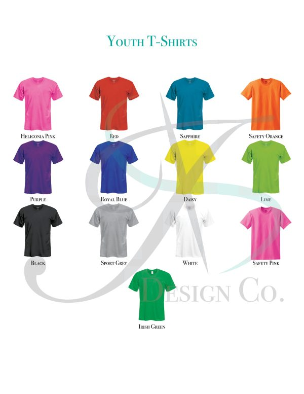 Youth T-Shirt Color Swatch