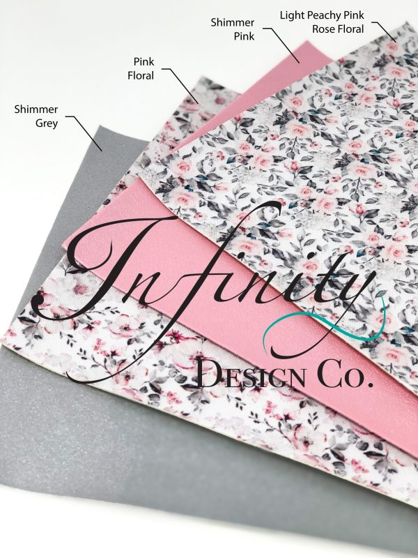 Faux Floral Leather Swatches