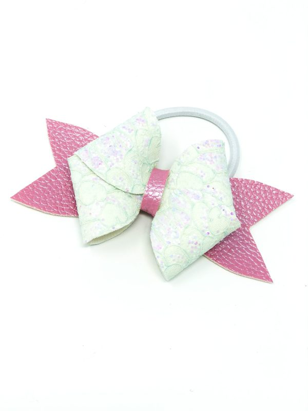 Double Feature Bow Hair Clip