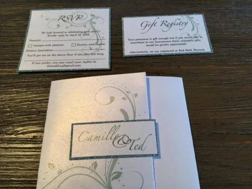 Wedding Invitation and Inserts