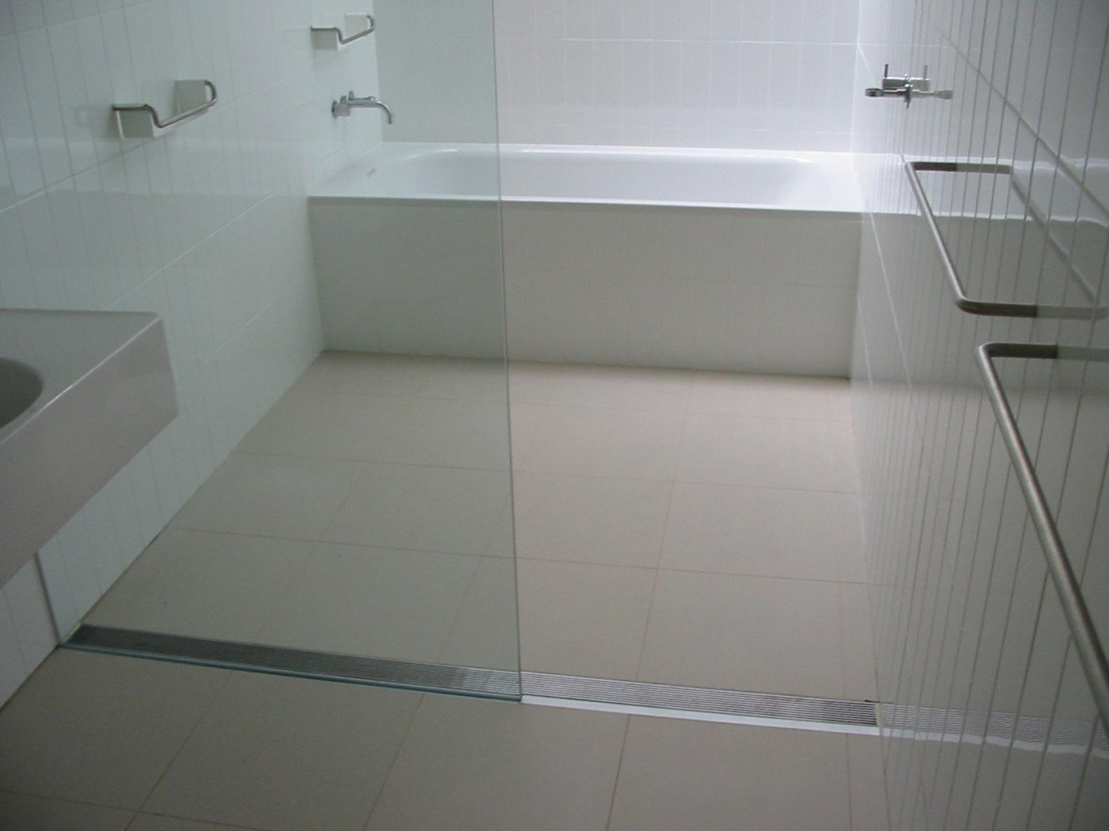 Drain Linear Installations Floor Shower