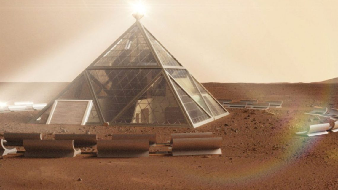 The CIA declassifies Archives on Pyramids and an extinct civilization on Mars