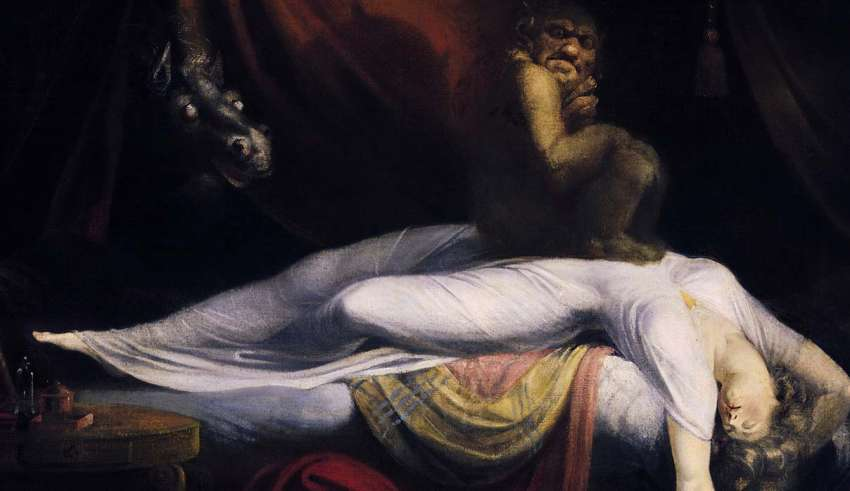 Sleep paralysis, attacks from beyond?