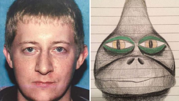 The reptilian hunter: Ex-Marine who claimed to be able to see alien faces infiltrated