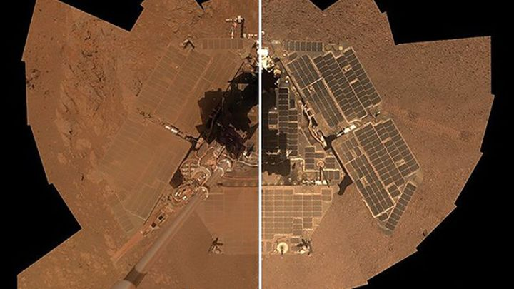 Who is cleaning the NASA Rovers on Mars?