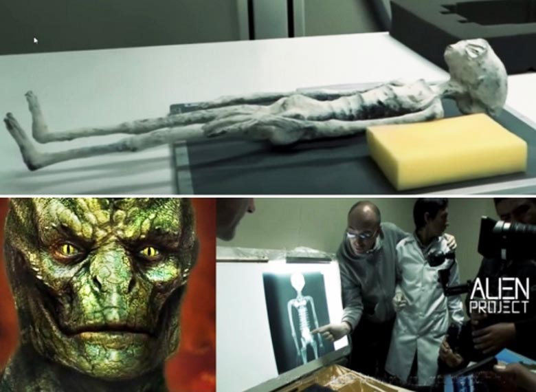 Extraterrestrial mummy found in Peru, substantially belongs to reptilian type