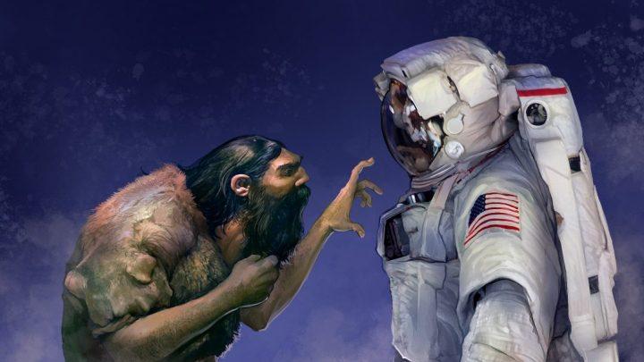 """From Homo-Sapiens to """"Homo-Cosmos"""": Do we approach the Universal God?"""