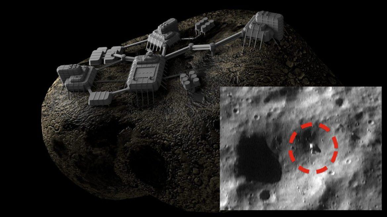 Controversy: NASA Spacecraft Captures Old Mining Machine on Eros Asteroid? (Video)