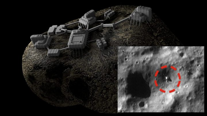 Controversy: NASA Spacecraft Captures Old Mining Machine on Eros Asteroid? (Video)
