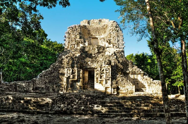 Chicanna: The House of the Mouth of the Serpent of the Mayans
