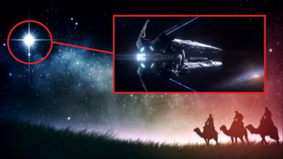 The Star of Bethlehem: New Theories point out that it was a UFO