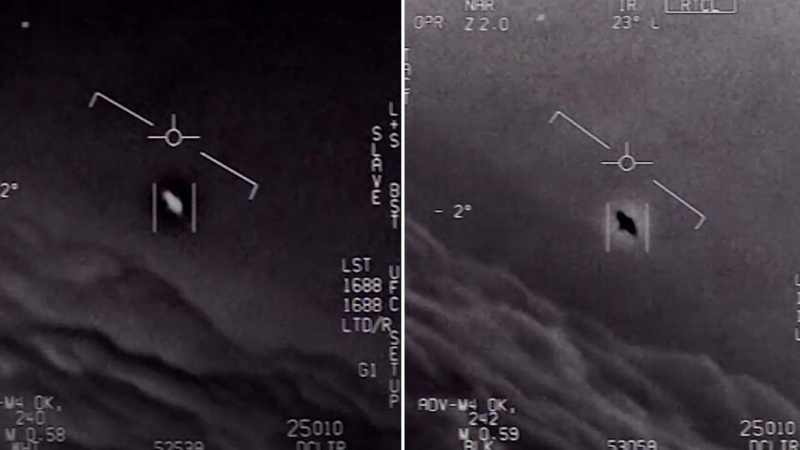 The Pentagon admits to having made secret investigations of UFOs for five years and there is a video that proves it