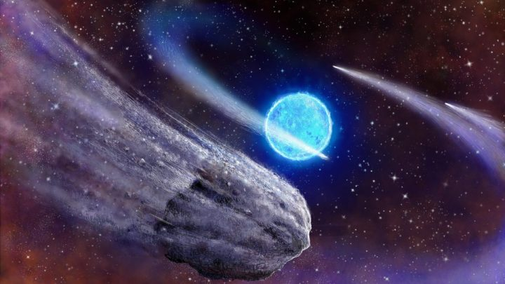 NASA detected how a Comet stops Abruptly: Something never seen before! (Video)
