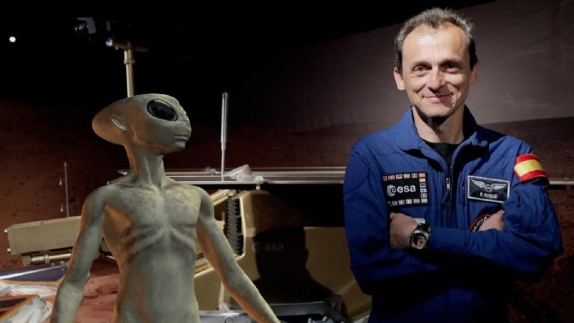 "Pedro Duque : ""Very soon we will find traces of extraterrestrial life"""