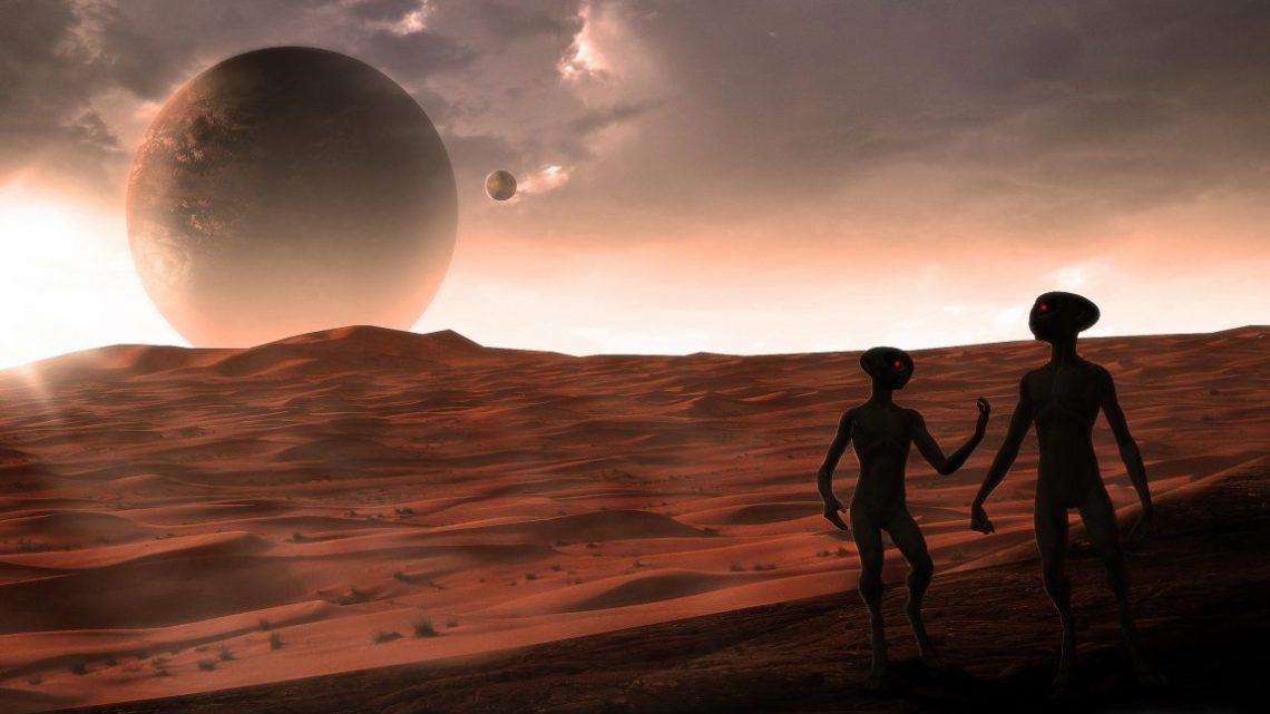 A giant alien race inhabited Mars in the past