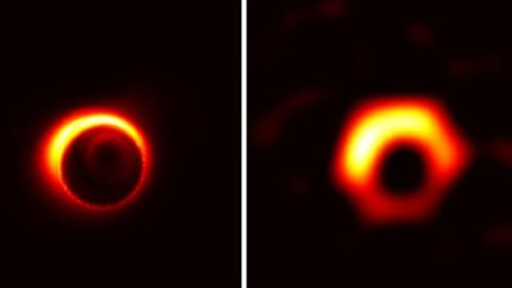 The first ever photograph of black hole captured.
