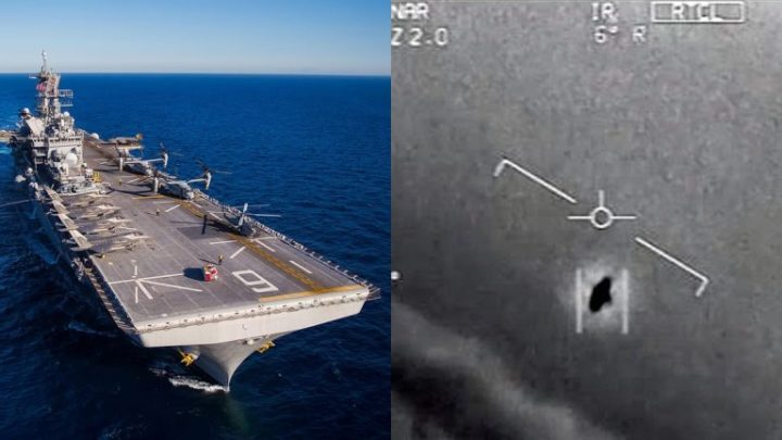 UFOs are invading the US military airspace. many times a month, says the Navy