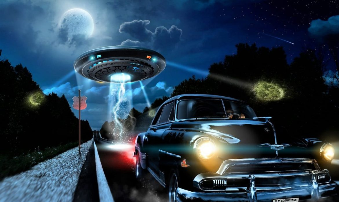 The spooky case of the man who was chased by a UFO