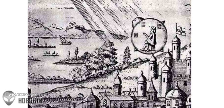 The crash of a UFO or Time Traveler in 1790 in France