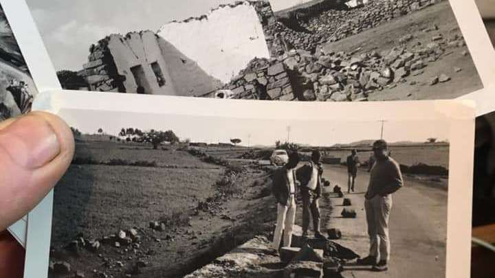 UFO destroyed a village in Ethiopia in 1970
