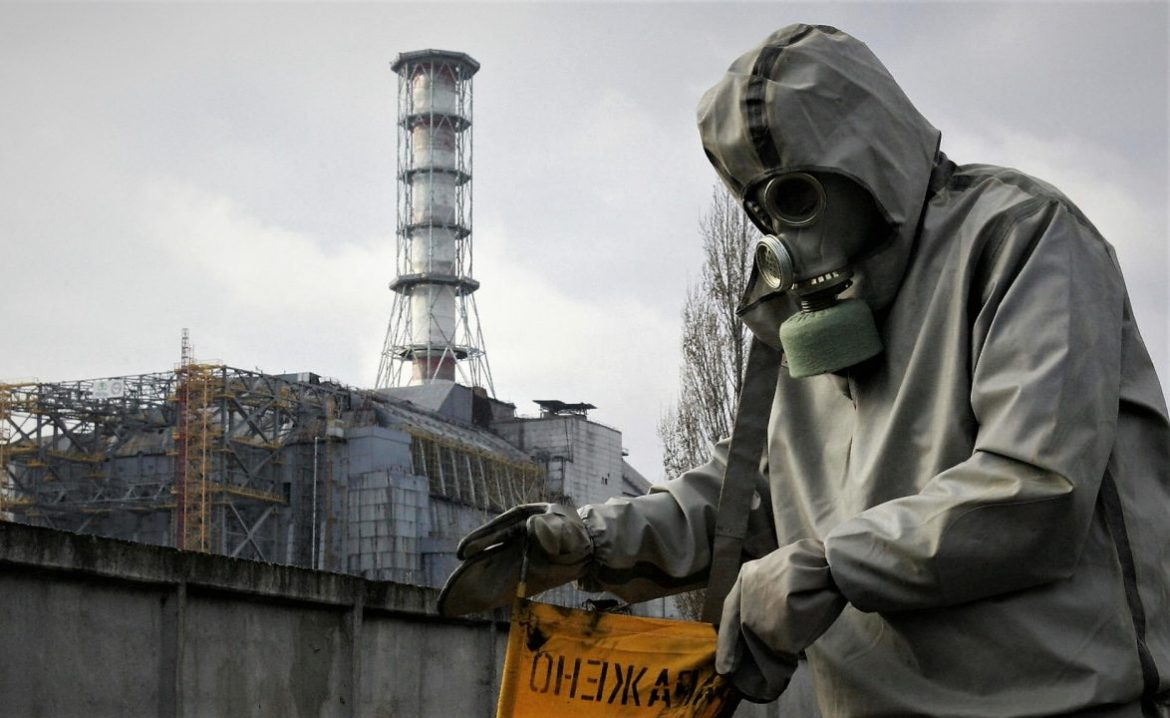 The Chernobyl nuclear sarcophagus is on the verge of collapse