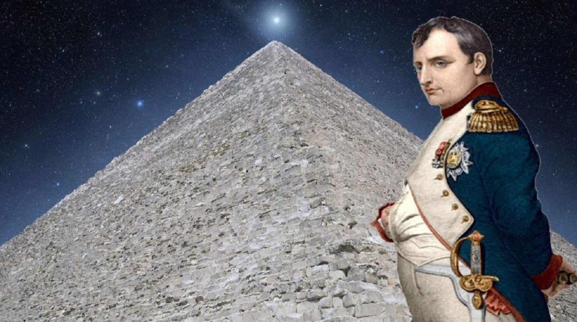 Napoleon slept in the Great Pyramid and what he saw changed history