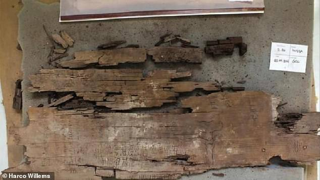 The oldest map of the underworld discovered in Egypt: Etchings on coffin show how the dead had to get past the lake of fire and knife