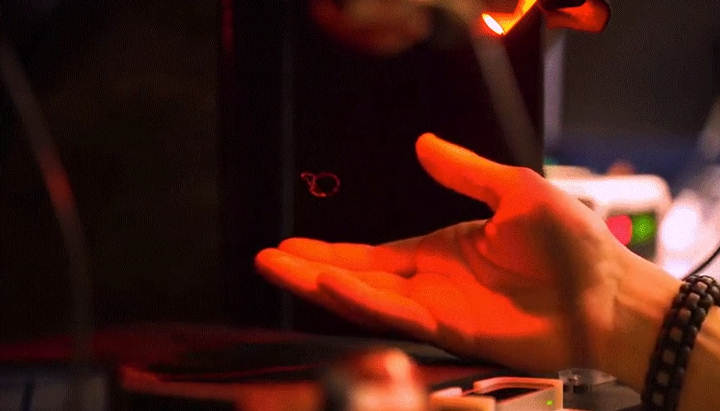 Scientists Have Created Holograms That Can Be Seen, Heard And Even Felt