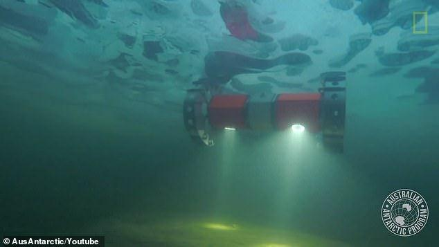 The underwater rover BRUIE that will explore Jupiter's moon Europa was tested in Antarctica
