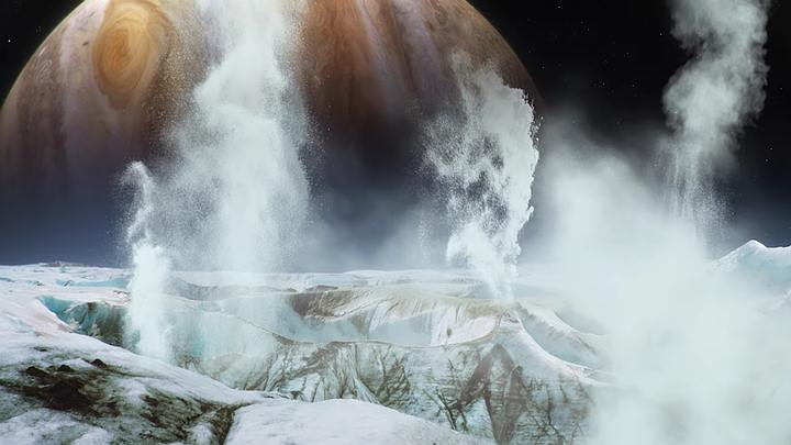 Scientists detect water vapor on Jupiter's moon Europa