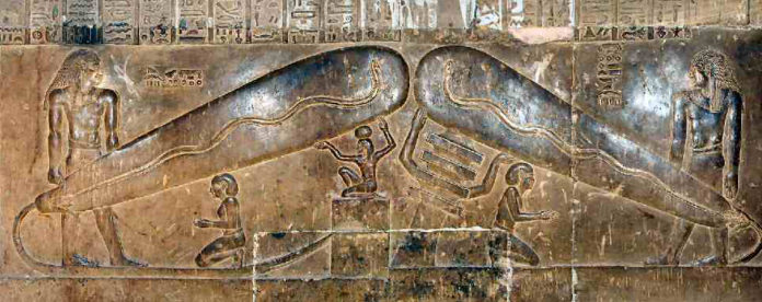 The Dendera Light Bulbs: electricity in ancient Egypt