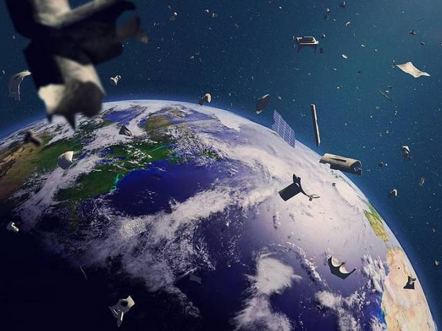 The first mission to clean up space junk is already dated