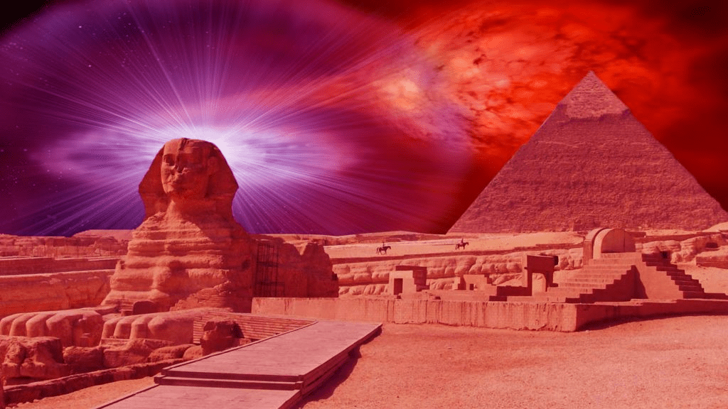 The Sphinx of Giza and its connection with Atlantis