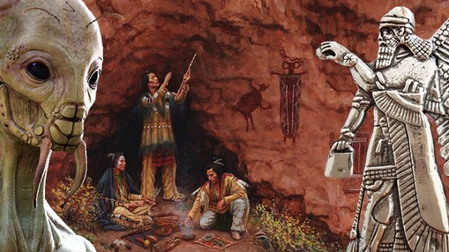 The UFOs of the Hopi tribe and the ant people
