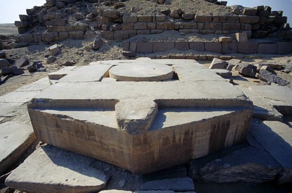 The hidden Stargate in the Sun Temple of Abu Gurab
