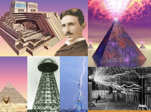 Ancient energy machine- The Great Pyramid Of Giza: Replica of Tesla's Power Plant