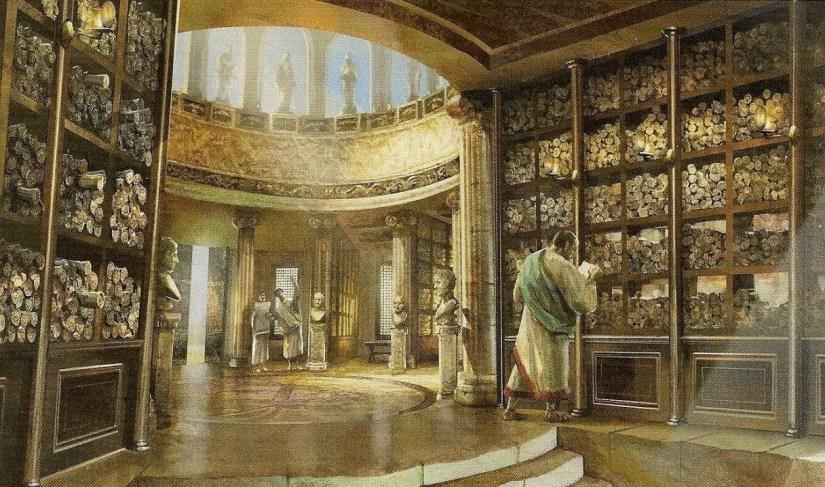 Die Große Bibliothek von Alexandria